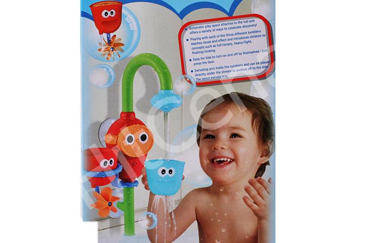 Hračka Do Kúpeľňe Shower Fountain Vodovodné Batérie