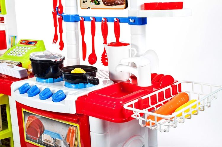 OGROMNA Kuchnia + SKLEP dla dzieci + AKCESORIA Zabawki agh kuchnie -> Kuchnia Dla Dzieci Kitchen Interaktywna Akcesoria
