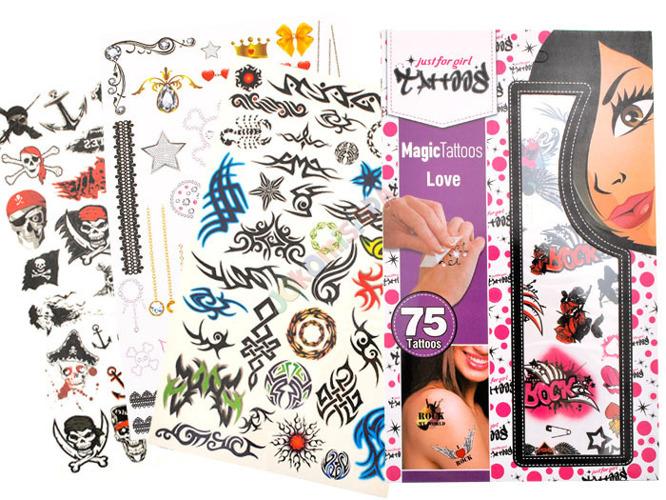 Zmywalne Tatuaże Dla Dziewczyn I Chłopców Za1365
